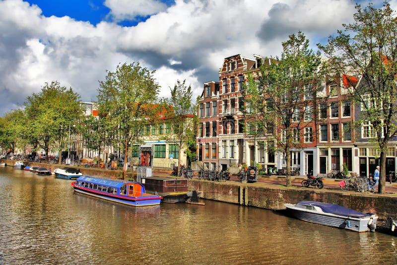 Amsterdam royalty-vrije stock fotografie