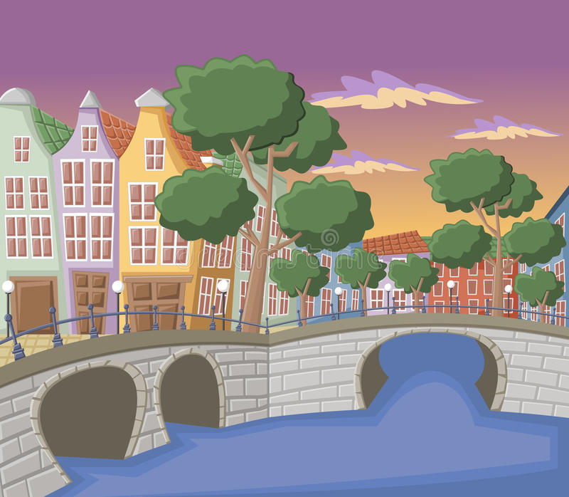 Amsterdam illustrazione di stock