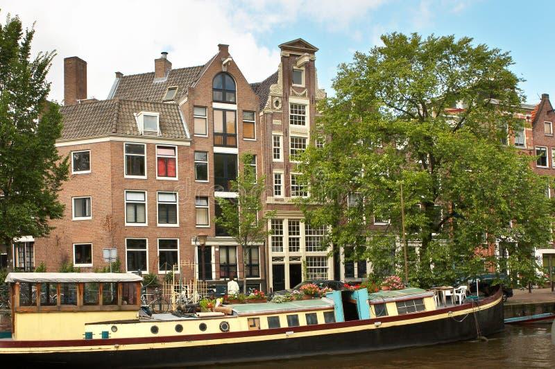 Amsterdam fotografia stock libera da diritti immagine for Houseboat amsterdam prezzi