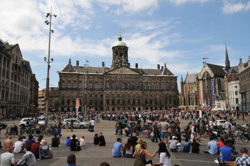 Amsterdam royalty-vrije stock afbeeldingen