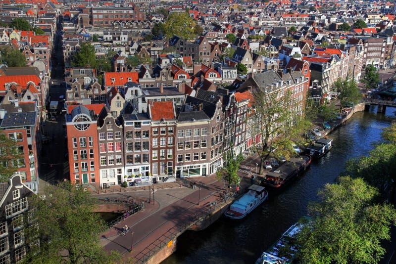 Amsterdam aerial 01, Netherlands stock photos