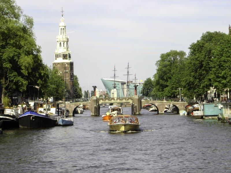 Amsterdam aleja obraz stock