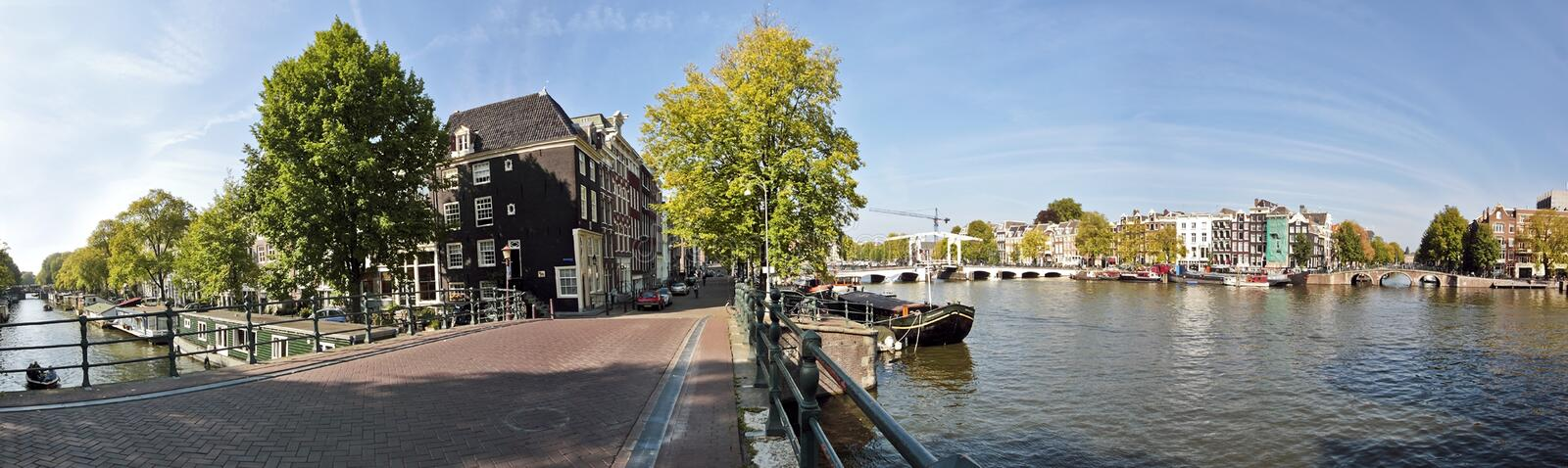 Download Amsterdam At The Amstel In The Netherlands Stock Photo - Image: 6475576