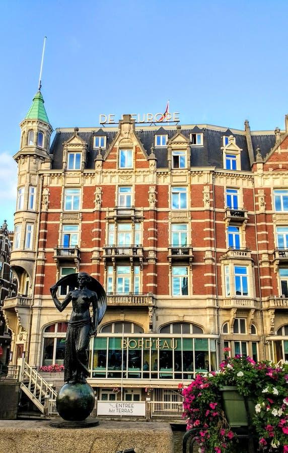 Amsterdam. Architektur city travel view royalty free stock photo