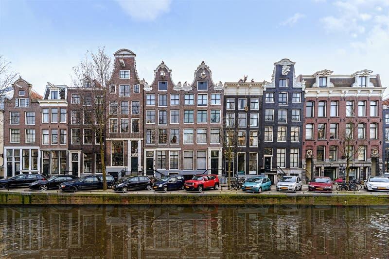 Amsterdam Flemish architecture stock images