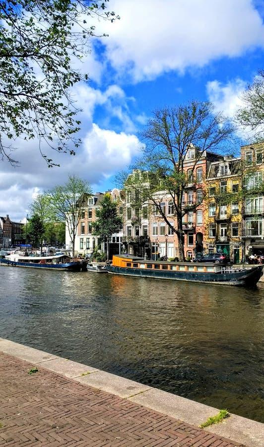 Amsterdam Architektur Canal travel. Amsterdam Architektur canal tracel stock photography