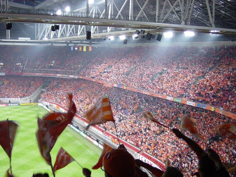 amsterdam arena arkivbild