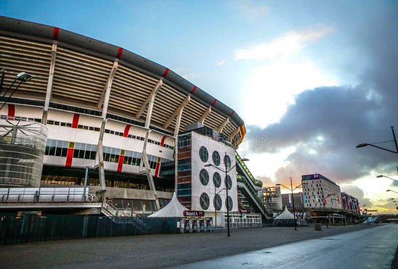 Amsterdam-Arenastadion, das größte Stadion in den Niederlanden Hauptstadion für AFC Ajax und die niederländische Nationalmannscha stockfoto