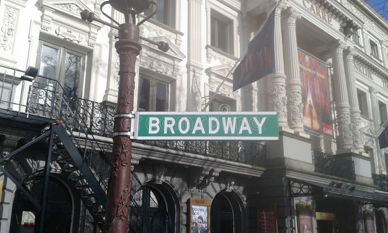 Amsterdam Broadway fotografia stock libera da diritti