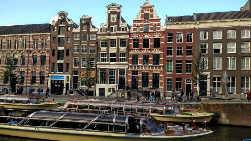 Amsterdam Canal Architektur. Amsterdam Architektur city travel view canal sky biat stock photos