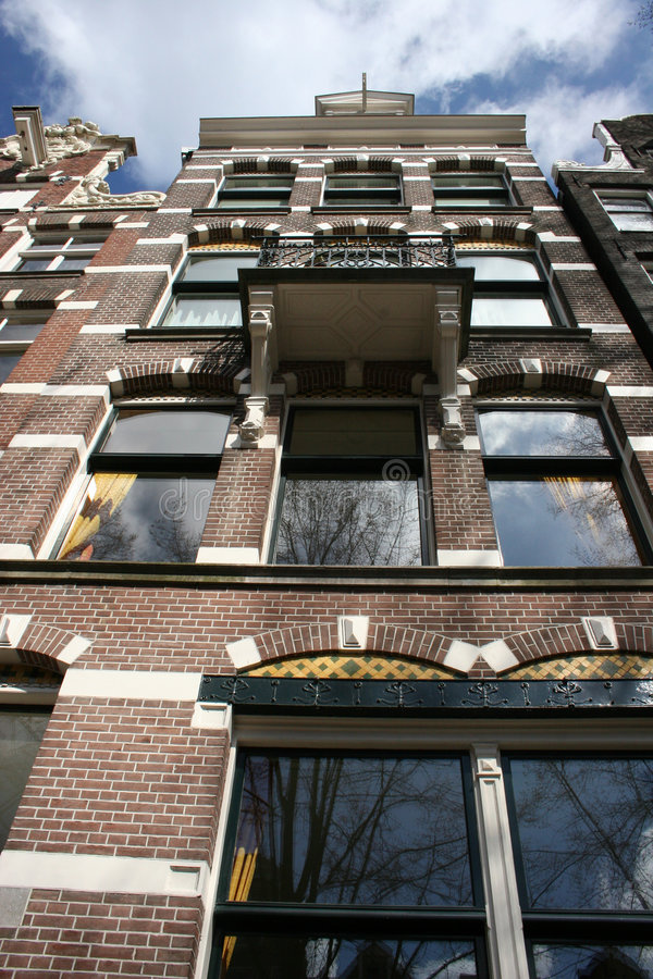 Free Amsterdam Canal House Stock Photography - 680782