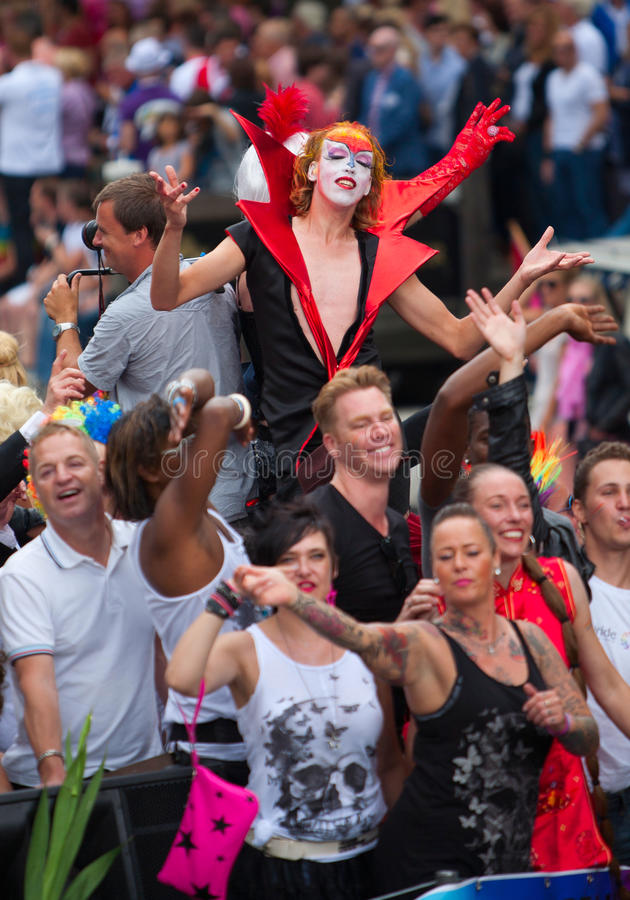 Download Amsterdam Canal Parade 2012 Editorial Photo - Image: 26018566