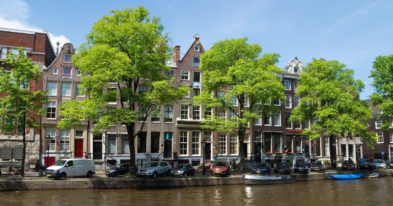 Download Amsterdam - Canales Y Casas Holandesas Típicas Foto editorial - Imagen de señal, configuración: 44850796