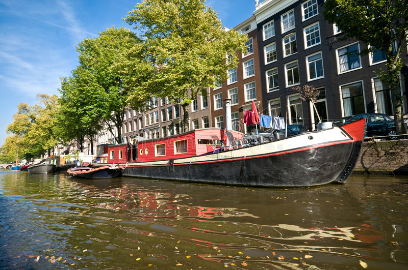 Download Amsterdam Canals Stock Photography - Image: 6962512