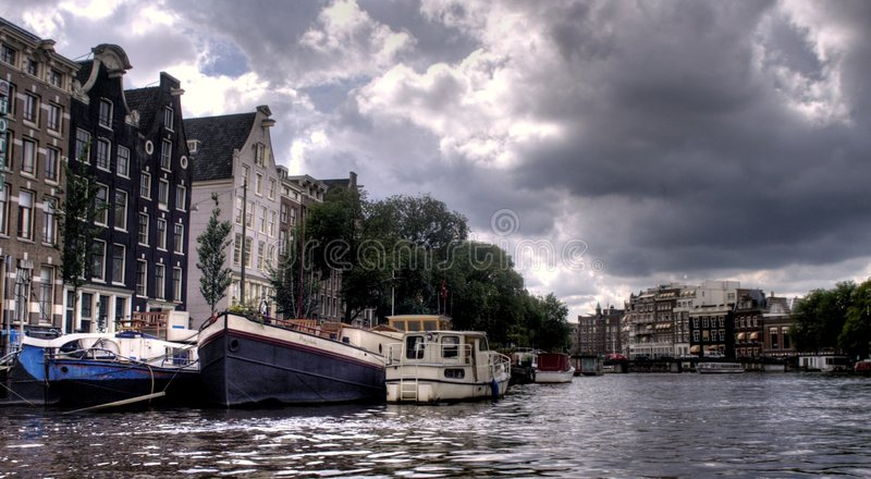 Download Amsterdam Channel And River Stock Image - Image: 3278507