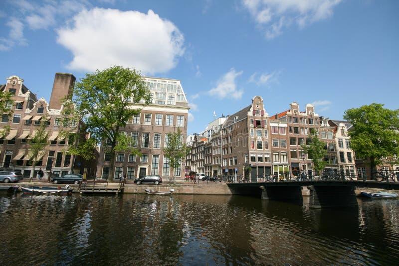Download Amsterdam city view stock photo. Image of bike, bridge - 26621610