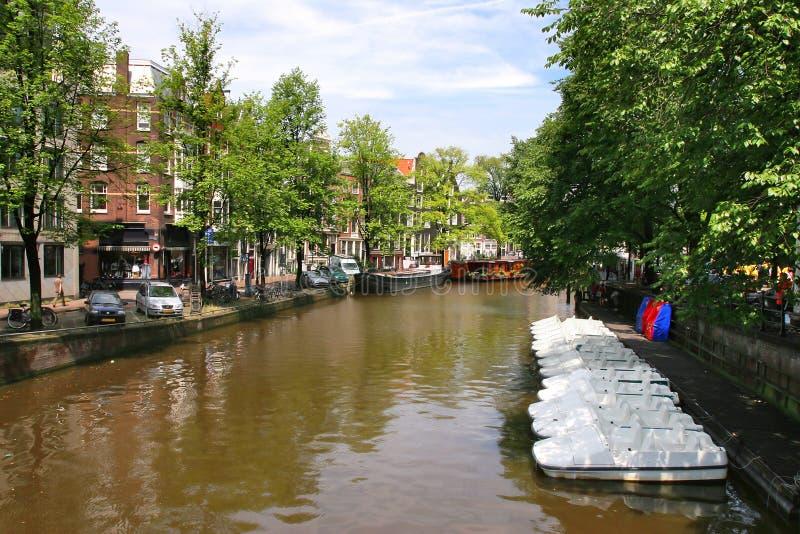 Amsterdam. Cityscape. Stock Photos