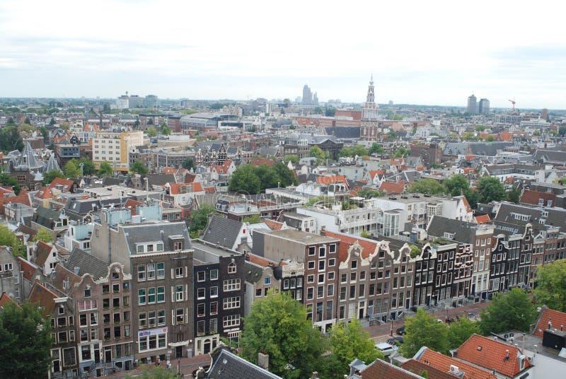 Amsterdam Cityscape Royalty Free Stock Photos