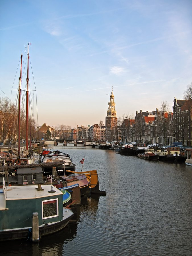 Download Amsterdam cityview stock photo. Image of water, canals - 1960678