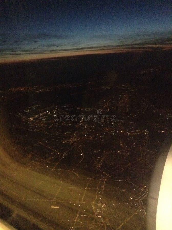 Amsterdam da sopra immagini stock