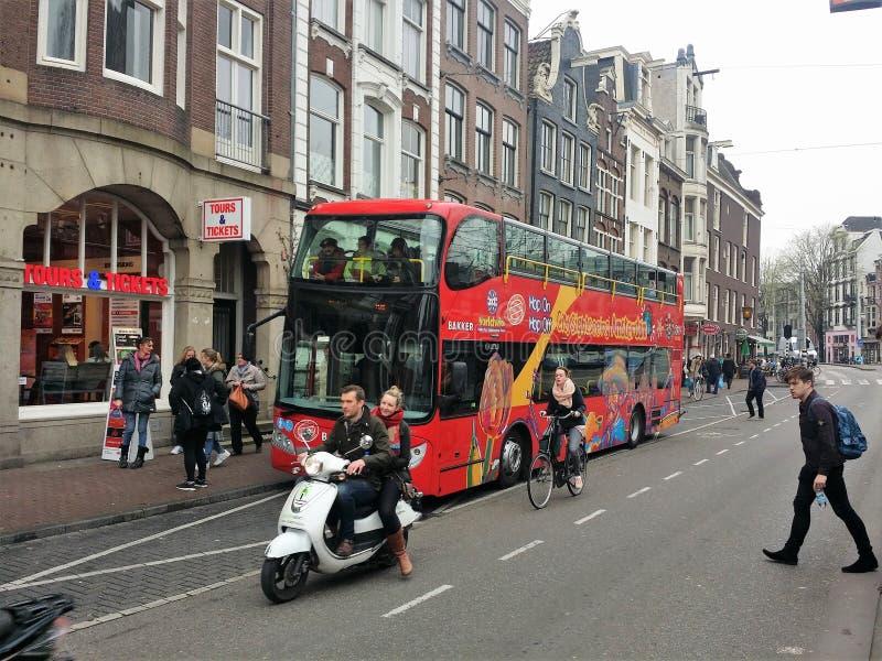 Amsterdam, die Niederlande lizenzfreie stockfotos