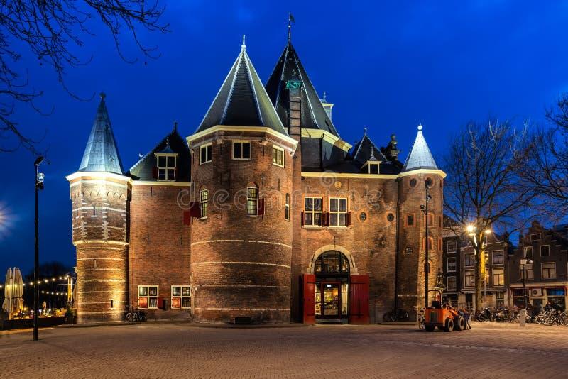 AMSTERDAM, DIE NIEDERLANDE - 11. APRIL 2018: Das Waag lizenzfreie stockfotos
