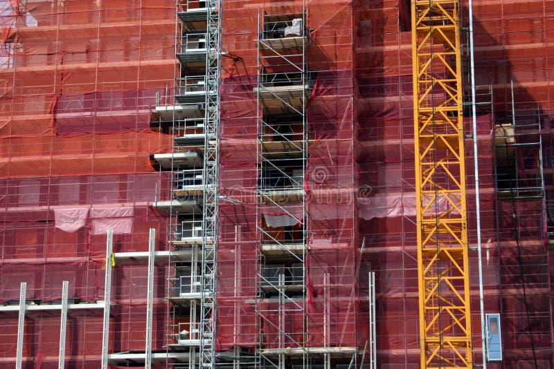 Download Amsterdam en construction image stock. Image du sous, grue - 740939