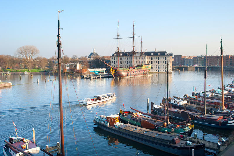 Amsterdam-Exkursion lizenzfreies stockbild