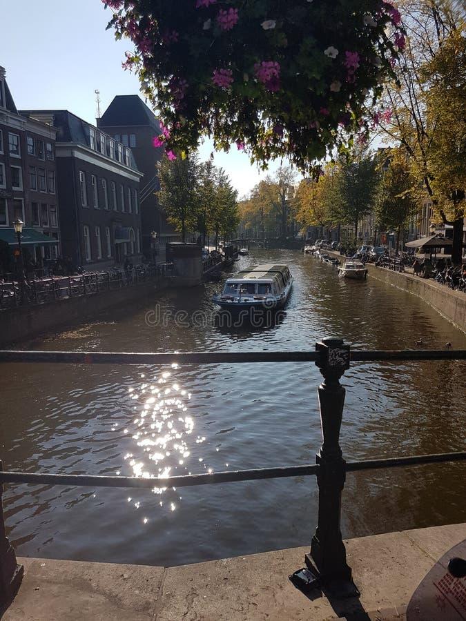 Amsterdam-Frühling stockbilder