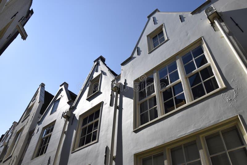 Amsterdam-Häuser lizenzfreie stockfotografie