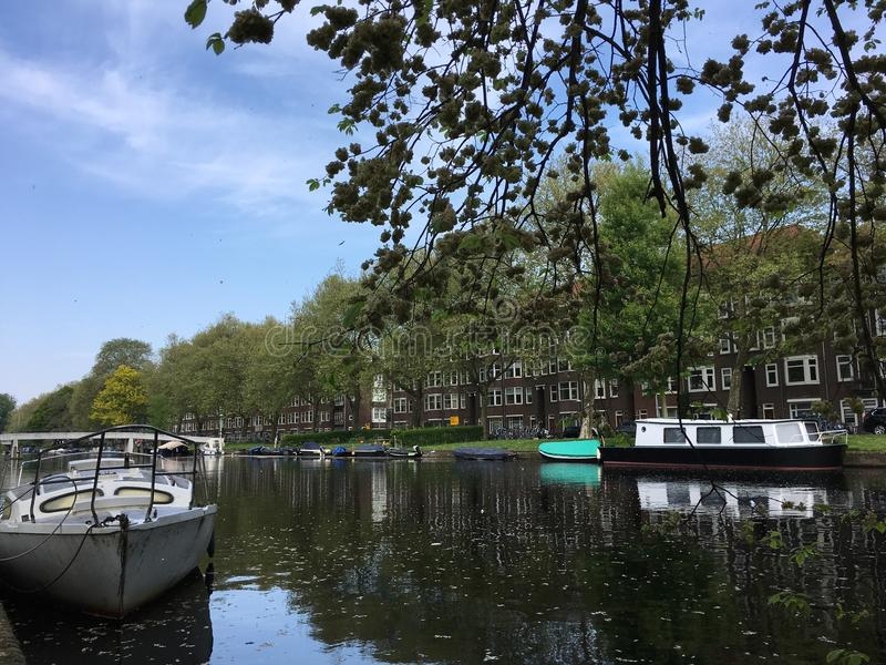 Amsterdam holanda arkivfoton
