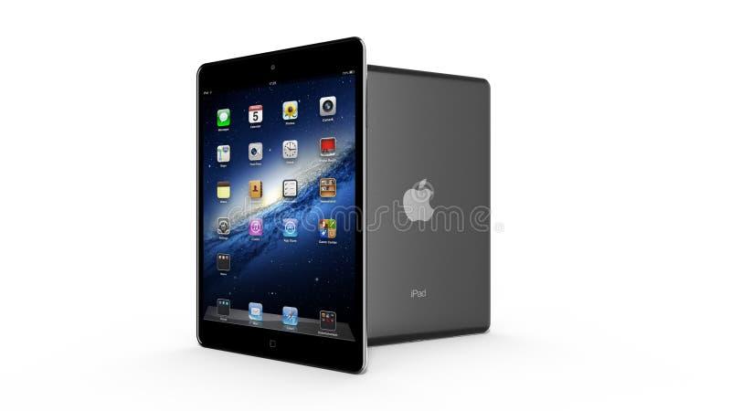 AMSTERDAM holandie iPad Mini - OKOŁO 2014 - zdjęcie stock