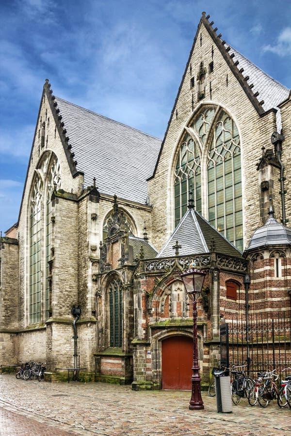 Amsterdam in Holland, Nederland Katholieke Kerk stock afbeeldingen