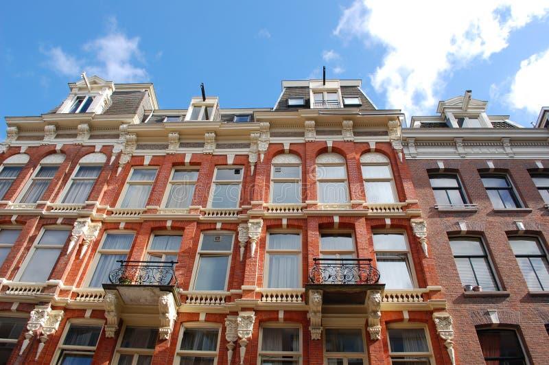 Amsterdam houses royalty free stock photos