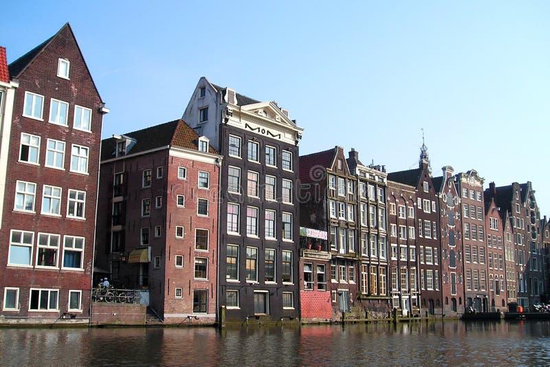 Amsterdam houses stock photos