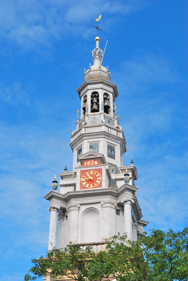 Amsterdam, iglesia del sur imagen de archivo libre de regalías