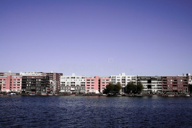 Download Amsterdam Java Island stock image. Image of estate, blue - 6731603
