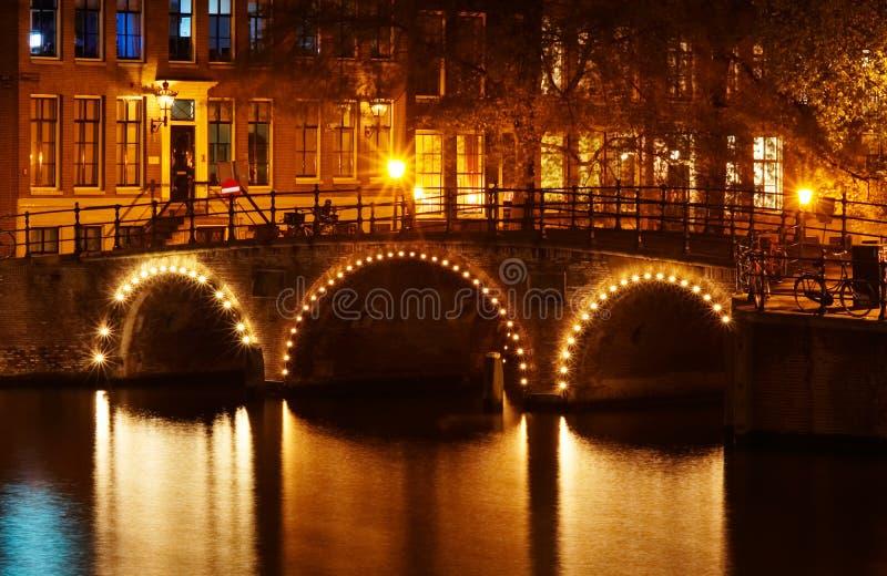 amsterdam kanały. zdjęcie royalty free