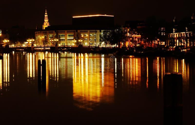 amsterdam kanały. zdjęcia royalty free
