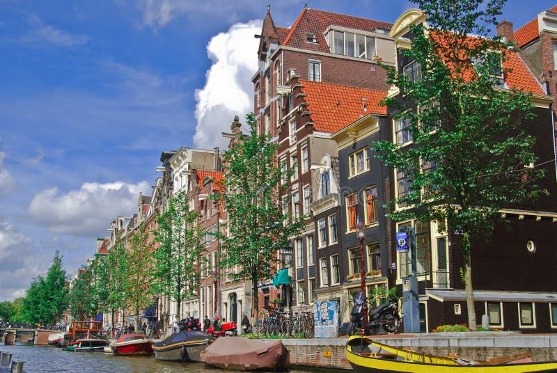 Amsterdam-Kanal lizenzfreie stockfotografie