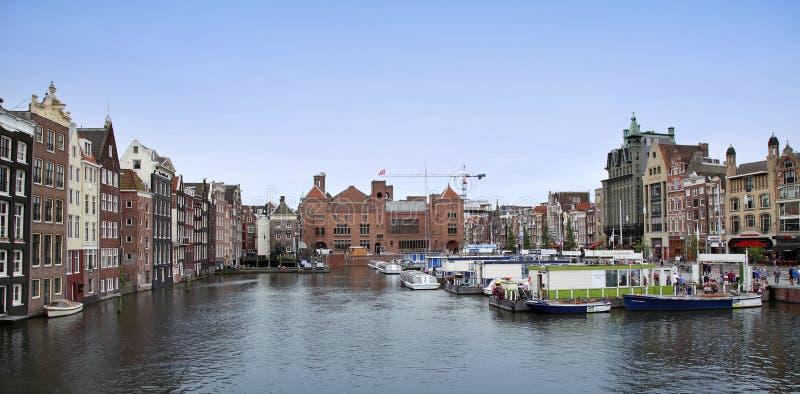 AMSTERDAM ; LES PAYS-BAS - 16 AOÛT ; 2015 : Belles vues de photo stock