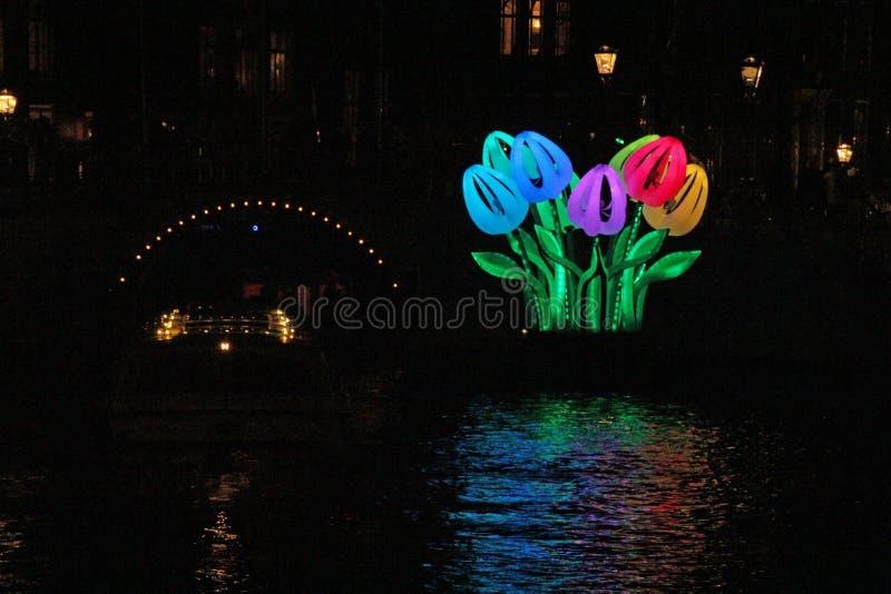 Amsterdam licht festival 06 royalty free stock photography