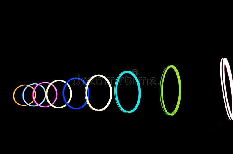 Amsterdam light festival stock image