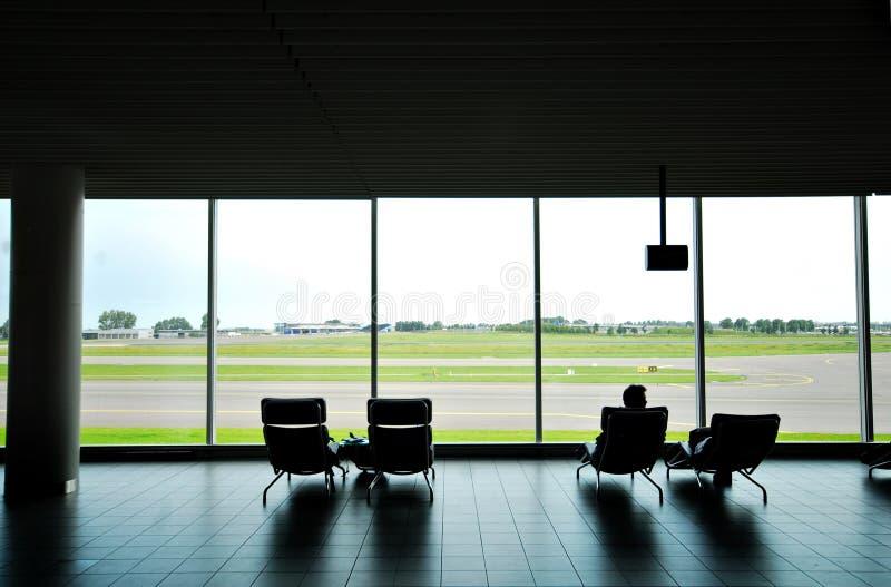 amsterdam lounge sch podróży zdjęcie stock