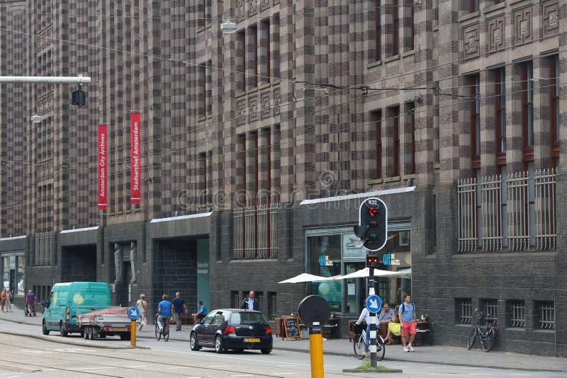 Amsterdam miasta archiwa zdjęcia royalty free