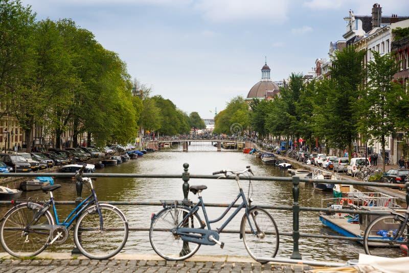 Amsterdam miasto obrazy stock