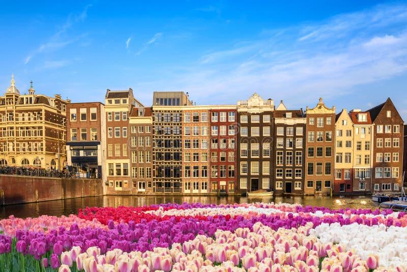 Amsterdam Nederland stock afbeeldingen