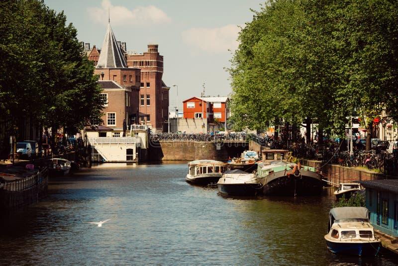 Amsterdam, Nederland stock afbeelding