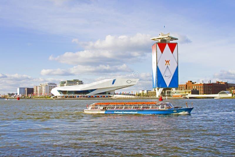AMSTERDAM, NEDERLAND - APRIL 30: Decoratie van de haven royalty-vrije stock foto's