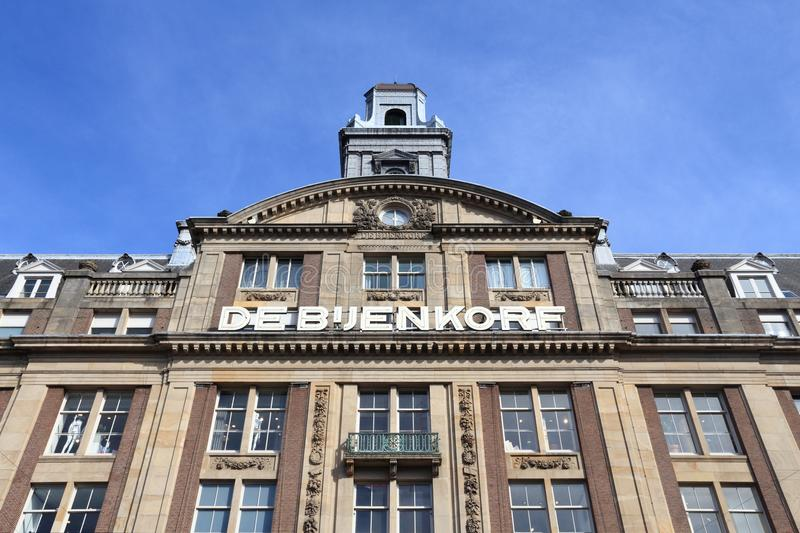 Amsterdam shopping stock photos